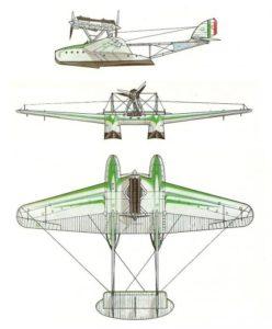 balbo crociera aerea sm55