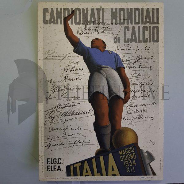 mondiali calcio italia 1934