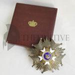 Ordine corona Belgio Gran