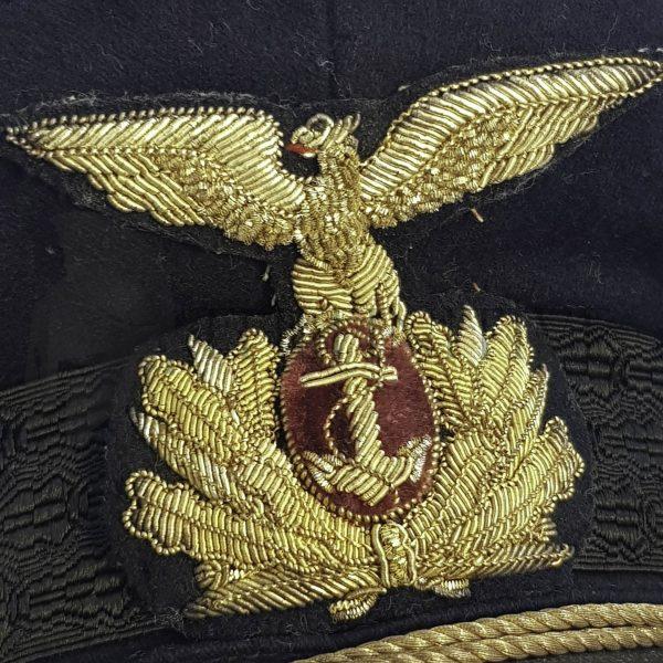 ufficiale marina repubblicana berretto