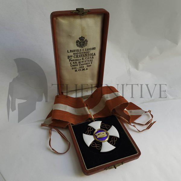 Corona d'Italia Commendatore ORO