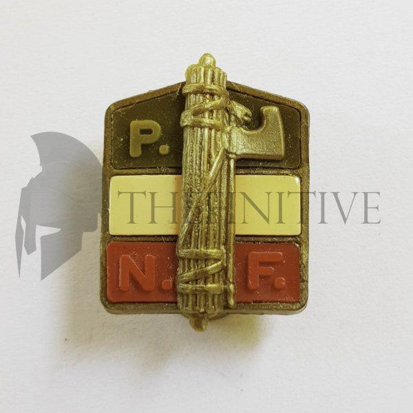 Distintivo membro PNF galalite