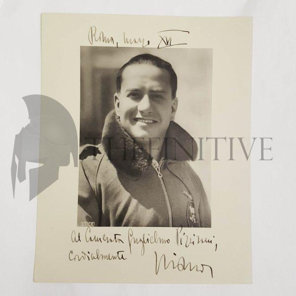 Galeazzo Ciano autografo DISPERATA