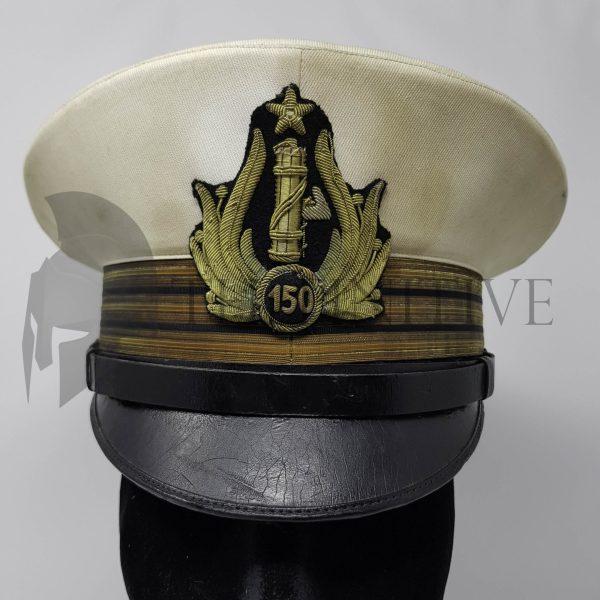 Centurione MVSN berretto bianco