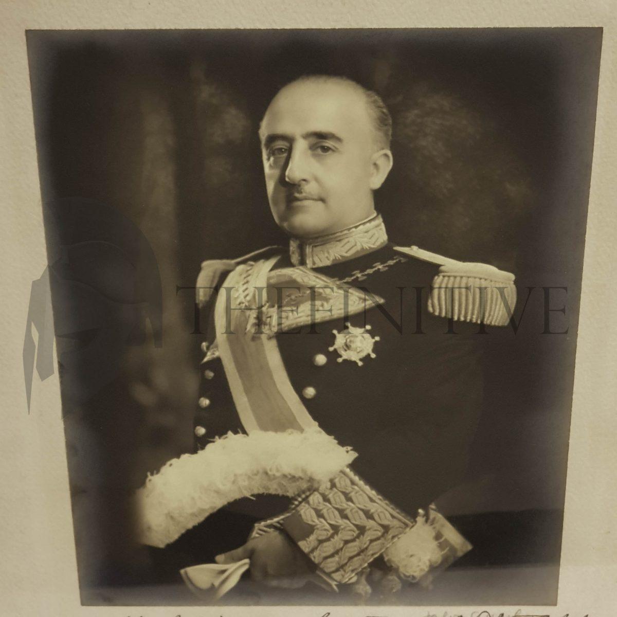 Francisco FRANCO Generalissimo Caudillo