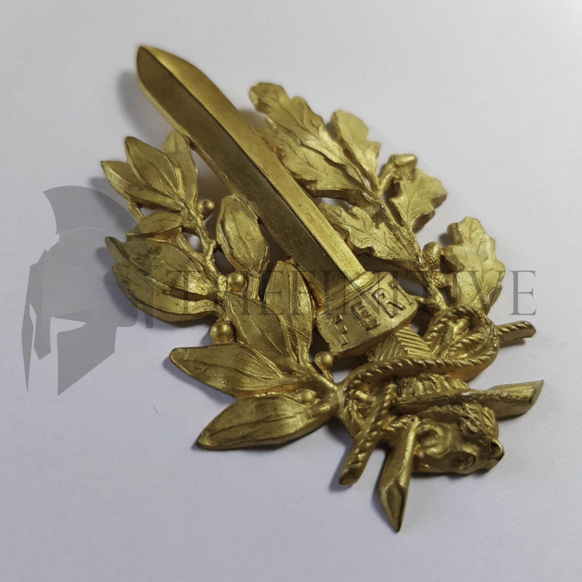 fregio arditi metallo dorato