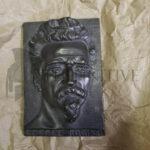 placca bronzo cesare battisti