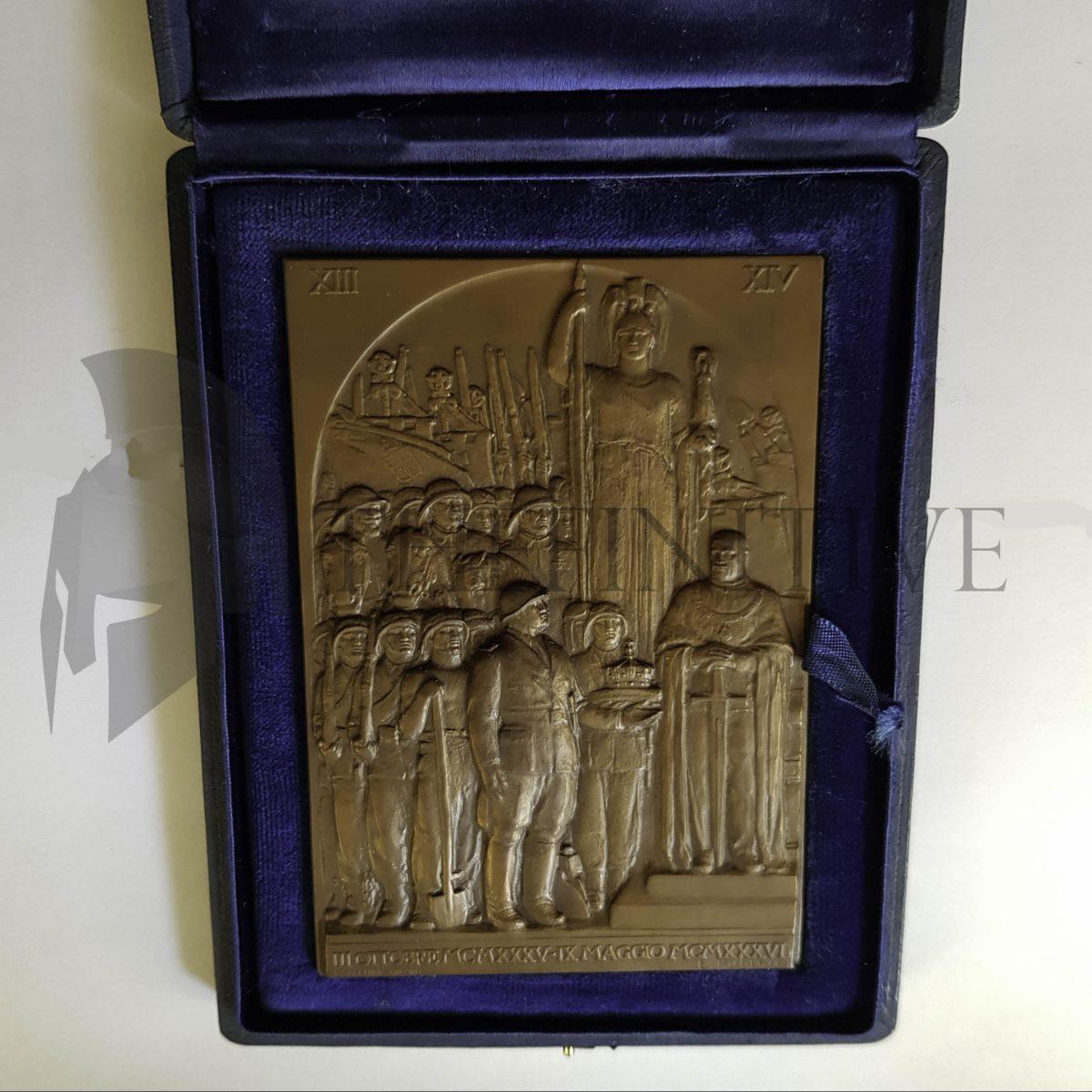 bronzo fondazione impero 1936