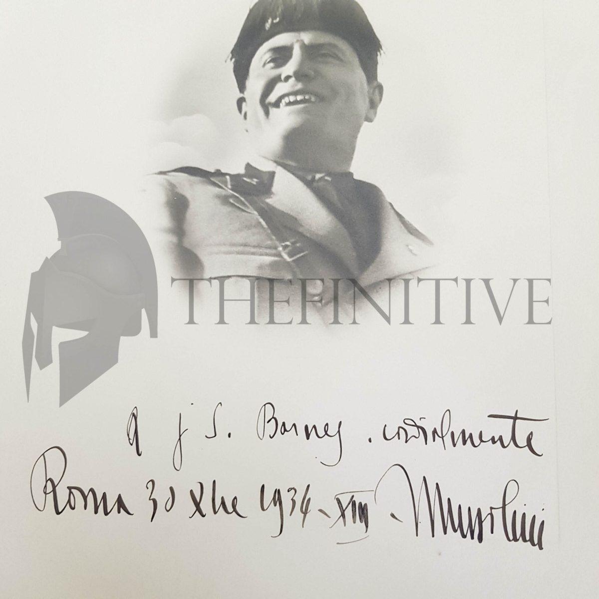 Foto Benito Mussolini 1934